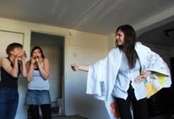 Drama rehearsals