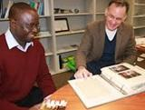 Irish Volunteers Produce Ghana Scrapbook