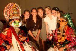 School trip to India