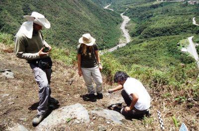 Inca project volunteers