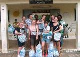 Ghana Volunteers Launch Water Sachet Recycling Project