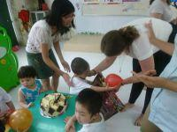 Volunteers in Vietnam Throw Birthday Party at Care Placement