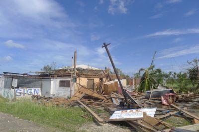 Volunteer Typhoon Relief in the Philippines