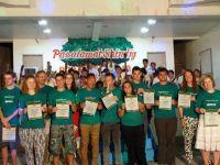 The City of Bogo honours Projects Abroad volunteers in the Philippines