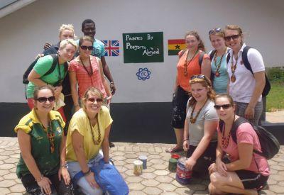 Group in Ghana
