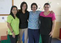 Physiotherapy volunteers work with young and old in Costa Rica