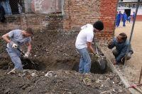 Projects Abroad Volunteers Break Ground on Sixth Disaster Relief Project