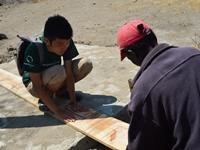 Projects Abroad volunteers help construct new accommodation for teachers in Tanzania