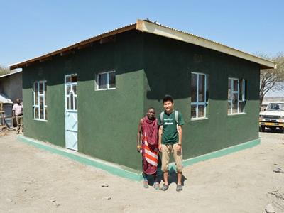 Accommodation built for the teachers in Esere, Tanzania