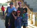 Zita and Sarah with the kids