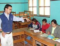 Teaching the local teachers
