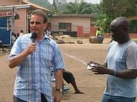 Peter on recent visit to Ghana