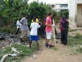 Volunteers help Cantonments clean up their act