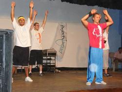 Dance demonstration
