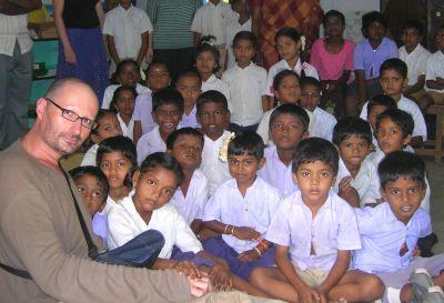 Volunteer in India