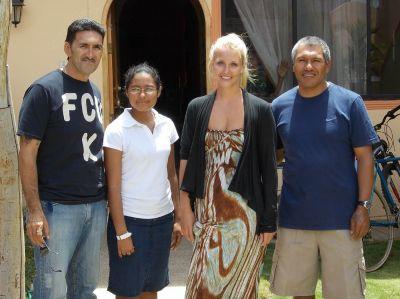 First Volunteer Arrives in Ecuador!