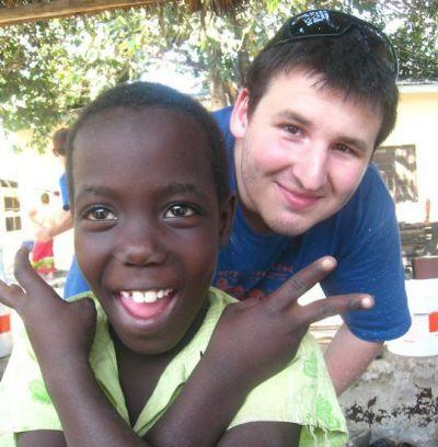 Jeremy in Tanzania