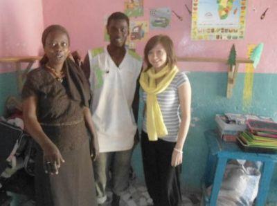Volunteer donation in Senegal