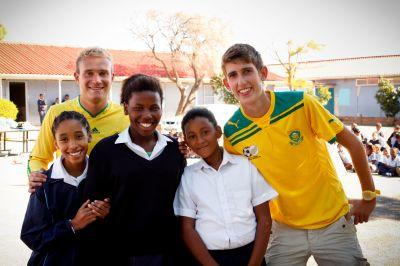 Volunteer teaching in South Africa