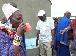 Tanzania Maasai water project