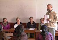 Helping teachers in Peru