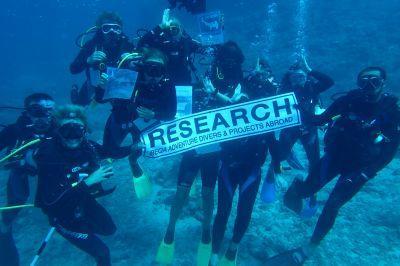 Dive teams inform global information on shark behavior.