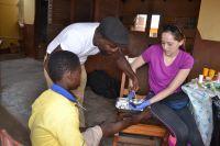 Spring Break volunteers help schools and communities through medical care in Ghana