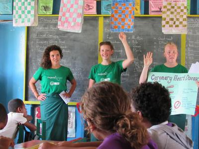 Nutrition volunteers raise health awareness through outreach programs in Fiji