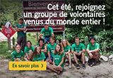 Cet été, trouvez votre groupe de volontaires!