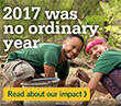2017 was no ordinary year – Global Impact Report