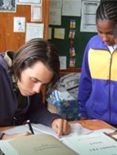 Alfabetizzazione in Sudafrica, riabilitazione dei pinguini, incontri informativi, testimonianze dei volontari - Newsletter agosto 2013