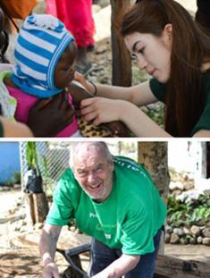 Un saluto dai volontari da tutto il mondo - Newsletter Agosto 2016