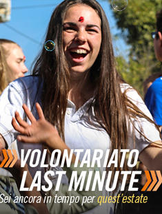 Ancora in tempo per un'estate di volontariato - Newsletter luglio 2017