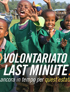 Volontariato Last Minute Estate 2018 - Newsletter luglio 2018