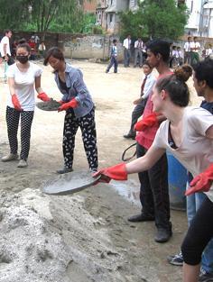 Emergenza terremoto in Nepal - Costruzioni e campi di lavoro - Newsletter Maggio n.1/2015