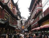 Straßen in Shanghai
