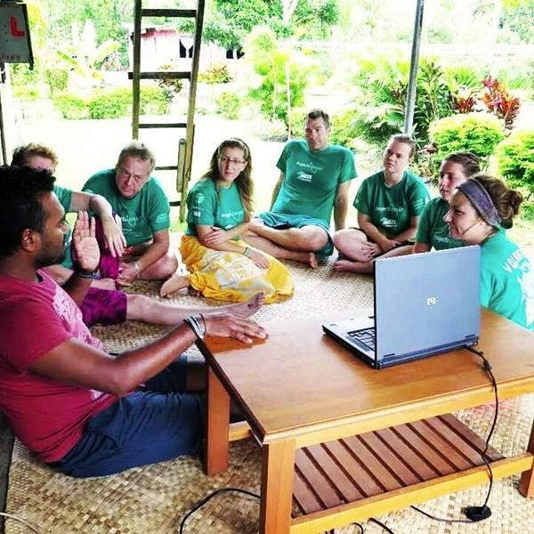 Besprechung im Naturschutz – Projekt
