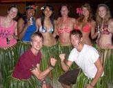 Freiwillige auf Fidschi