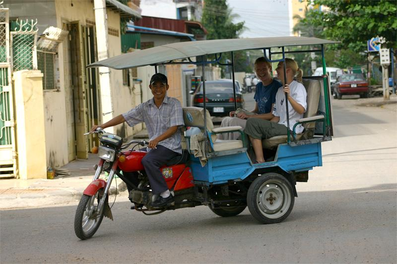 Straßen in Phnom Penh