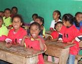 Schulklasse auf Madagaskar