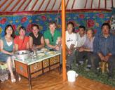 Im Nomaden - Zelt