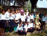 Freiwillige mit Ihrer Klasse