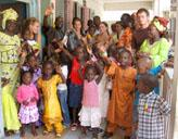 Freiwillige im Senegal