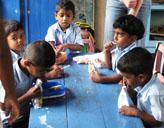 Mittagessen im sozialen - Projekt