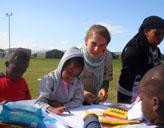Arbeit im Flüchtlingscamp