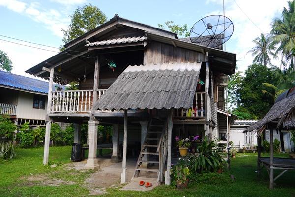 Das Haus einer unserer Gastfamilien in Thailand