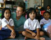Freiwillige im Kindergarten