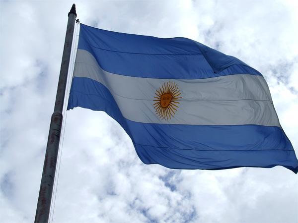 Det argentinske flag