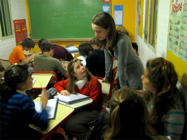 Frivillig lærer i Argentina