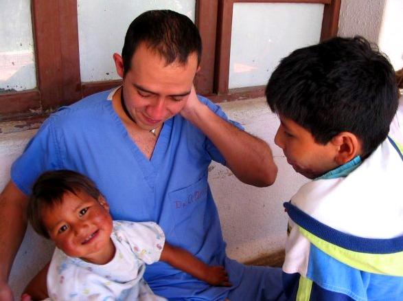 Medicin praktikant på hospital i Bolivia
